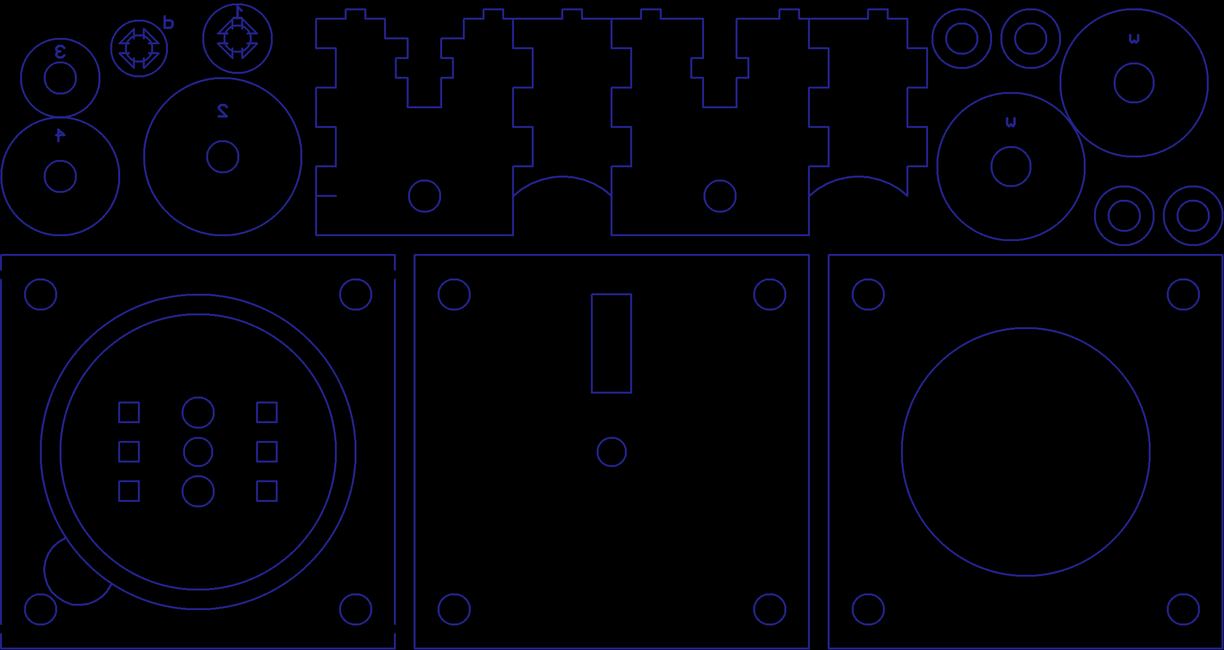 Tiny-swerve V1 drawn out in Eagle. Because for 2D cad, it really doesn't matter what you're using